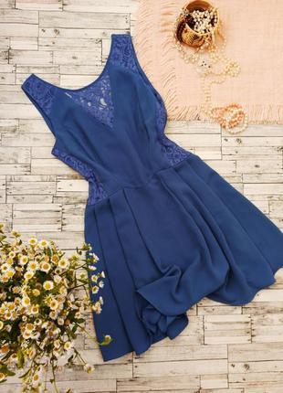 Вечернее платье миди с кружевом кружевное oasis