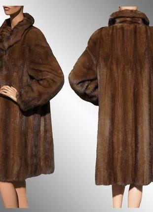 Роскошная норковая шуба/шуба/пальто/шуба норка/шубка/меховая шуба/полушубок/куртка