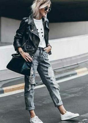 Рваные джинсы denim co