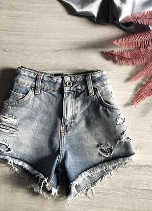 Актуальные джинсовые шорты mango s-m