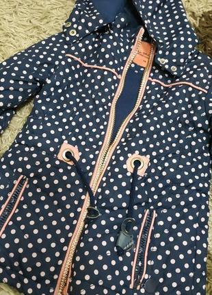 Куртка парка демисезон 92-98см grace
