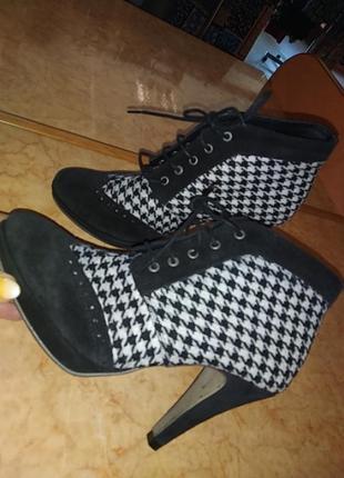 Ботінки черевички замш patrizia dini