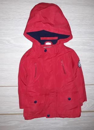 Яркая деми курточка f&f на 1,5-2,0 года