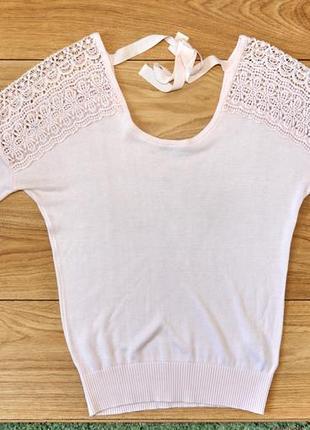 Легкий світло-розовий светр від канадского бренда  ricki's