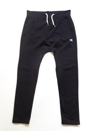 Спортивные штаны  slim заниженой посадкой