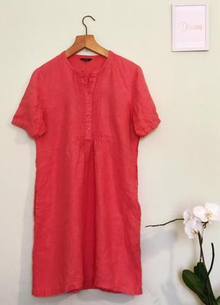 Стильное женское платье из льна! лён 100%