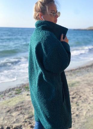 Стильне красиве пальто  букле барашек