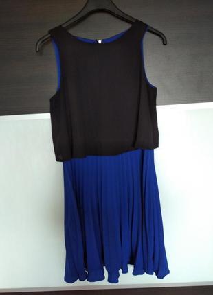 Стильное  платье с юбкой плиссе oliver bonas
