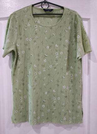 Нежная стрейчевая блузка, футболка