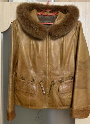 Натуральная кожаная куртка кожанка демисезонная куртка курточка косуха кожаная куртка