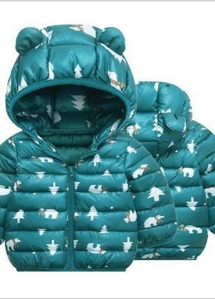Курточка с ушками