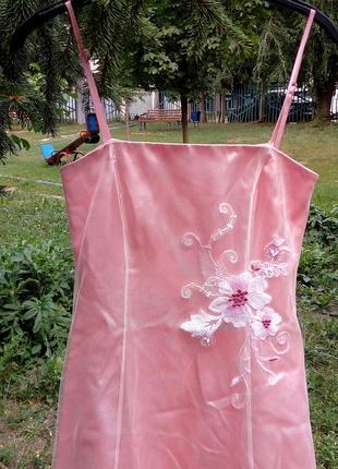 Эксклюзивное свадебное платье. шифон с вышивкой на чехле. размер 34. германия zero2 фото