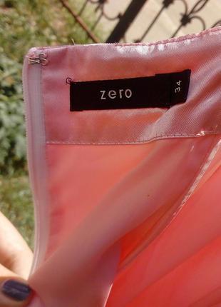 Эксклюзивное свадебное платье. шифон с вышивкой на чехле. размер 34. германия zero5 фото