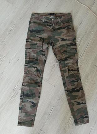 Женские штаны камуфляж