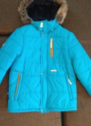 Куртка зимняя lenne размер 128