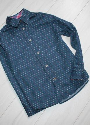 Рубашка 100% хлопок на 5-6 лет