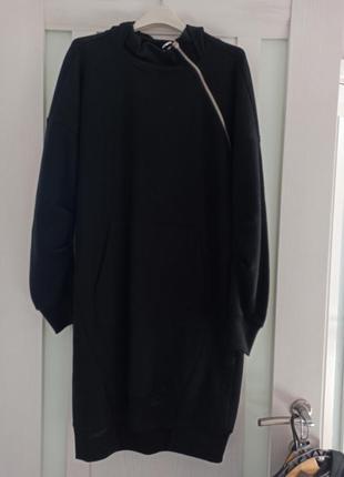 Платье, свитшот на флисе reserved
