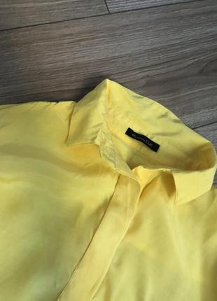 Massimmo ditty жёлтая блуза