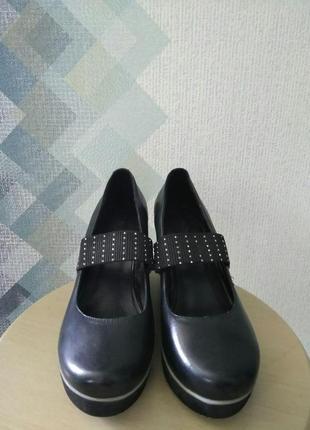 Туфли на танкетке nina originals