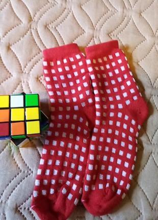 Носки детские для девочки теплые на 4-6,8-10 лет,хлопок/стрейч