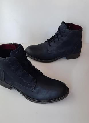 Кожаные ботинки tamaris