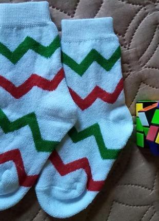 Носки махровые на девочку 4-6 лет