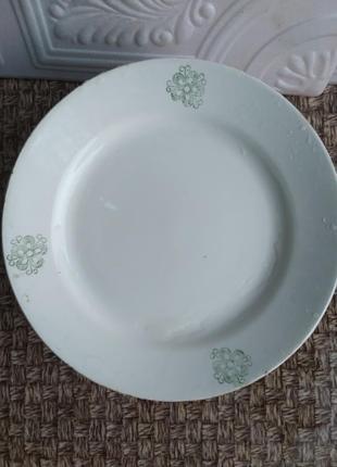 Тарелка блюдо ссср антиквариат ретро винтаж