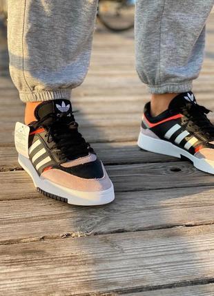Мужские кроссовки adidas  drop step black