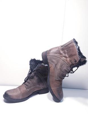 Женские ботинки clarks р.38, 5 (25,5 см.)
