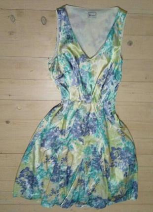 Платье винтаж цветочный