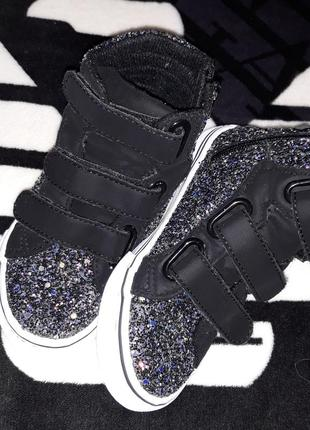 Высокие кроссовки кеды ботинки фирма primark