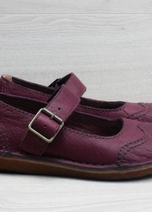 Кожаные женские туфли с пряжкой clarks оригинал, размер 37