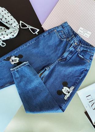 Крутые джинсы мом микки