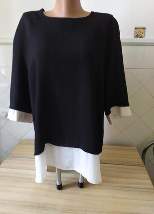 Испания. блуза от atmospher .батал.