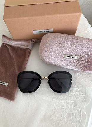 Новые солнцезащитные очки miu miu