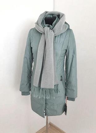 Подовжена  куртка/пальто демісезон