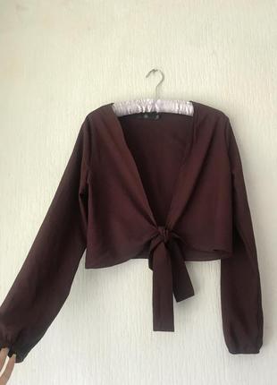 Блуза-топ з зав'язками
