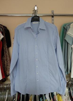 Классическая рубашка в мелкую полоску eterna