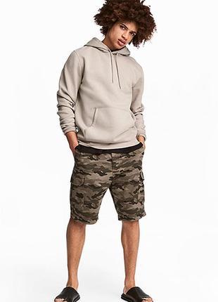 Оригинальные шорты-карго от бренда h&m разм. 30