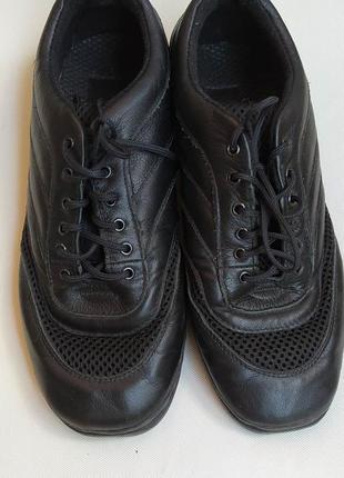 Джазовки кроссовки кожаные танцевальные