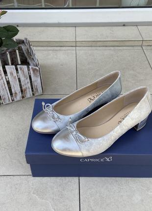 Туфли caprice оригинал германия натуральная кожа