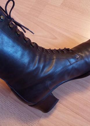 Германия, шикарные,красивые,кожаные ботинки,полуботинки,ботильоны,сапоги,устойчивый каблук