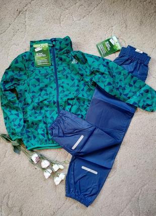 Комплект ветровка дождевик и штаны на 6-8 лет hip&hopps германия