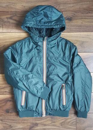 Куртка ветровка утепленная на мальчика