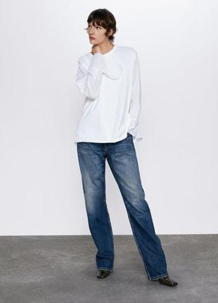 Модная бойренд рубашка  размер  л zara