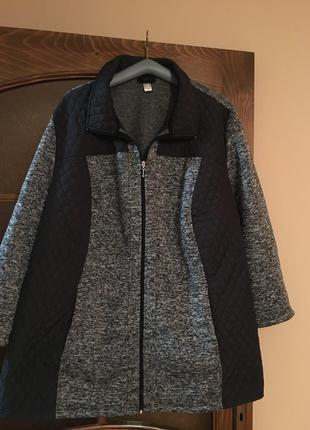 Флисовая куртка батал 58/60 m.collection