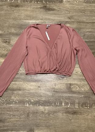 Кофта блуза с запахом новая asos