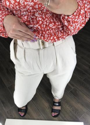 Джинси слоучі з поясом3 фото