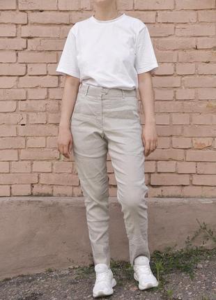 Штаны лён льняные брюки annette gortz rundholz rick owens jil sander acne studios oska