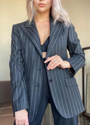 Шерстяной пиджак dolce&gabbana оригинал